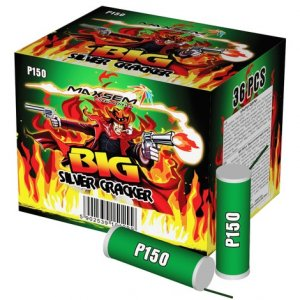 BIG SILVER CRACKER P150