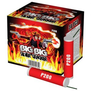 BIG BIG SILVER CRACKER P200
